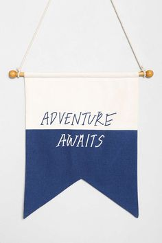 Adventure Awaits Flag - Urban Outfitters