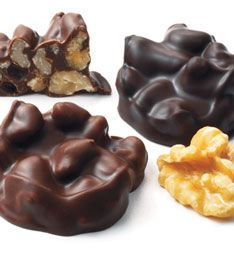 Walnut Clusters Milk And Dark Chocolate