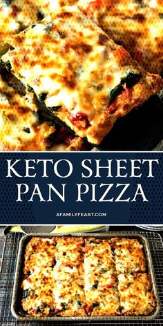 Weight Loss Diet Lunch This Keto Sheet Pan pizza has a low-carb crust and lots of delicious toppings.Weight Loss Diet Lunch This Keto Sheet Pan pizza has a low-carb crust and lots of delicious toppings. Ketogenic Diet Meal Plan, Diet Meal Plans, Ketogenic Recipes, Low Carb Recipes, Diet Recipes, Healthy Recipes, Pizza Recipes, Healthy Fats, Keto Meal