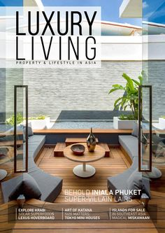 Luxury Living Magazine - Issue 9 (2016)  Welcome to the new edition of the Luxury Living Property & Lifestyle Magazine. This issue is quite exciting as we have a fresh approach for choosing a high-quality and exceptionally interesting content for our readers. We let you in the breathtaking art world of the Chinese Fashion illustrator Celine Wong. Discover dramatic coastal scenery of Krabi province. Do check out latest fashion trends with us. Open a secret paradise gateway - the exquisite…