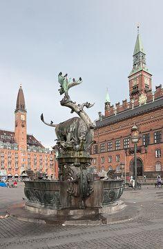 Rådhuspladsen, Copenhagen, Denmark