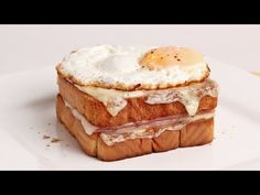 Croque Madam Recipe| Laura in the Kitchen