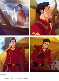I feel like in most of these he's just really stressed out because of something Korra did (I didn't remember a lot from LOK. Avatar Fan Art, Team Avatar, Zuko, Iroh Ii, Avatar World, Avatar Characters, Avatar Series, Korra Avatar, Avatar The Last Airbender Art