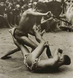 Indonesia: Keris / Kris (weapon) Fight - Collection Tropenmuseum, Amsterdam