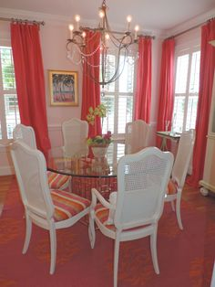 Loving the latest dining room I just finished. Updated and bright and not too formal.