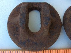 Vintage Rusted Metal Supplies Altered Art by LoftAtticEarth