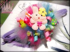 tulle and korker bow