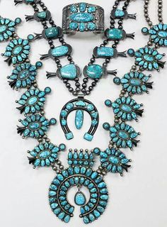 Number Eight Turquoise