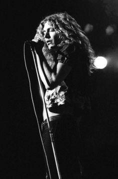 "soundsof71: ""Led Zeppelin: Robert Plant, 1972, by Ian Dickson """