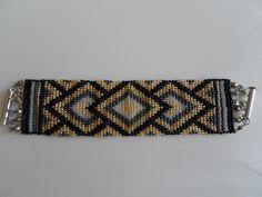 loom bracelet Loom Bracelets, Beading Projects, Bead Patterns, Belt, Accessories, Beads, Fabrics, Belts, Pearler Bead Patterns