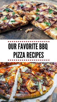 Here are some of our favorite BBQ Pizzas and how you make pizzas on the grill. Making pizzas on the grill is a for sure way to switch up the flavors!
