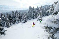 Faites le plein de sensations fortes à Combloux ! #ski #HauteSavoie