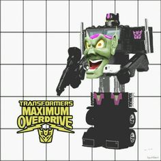 Maximum Overdrive Transformers (WISH) Nemesis Prime, Maximum Overdrive, Light Grid, Retro Images, 80s Movies, Classic Movies, Cool Toys, Transformers, Nerdy