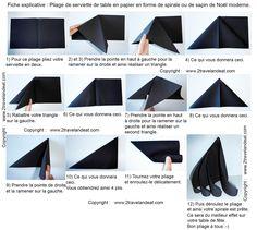 www.2travelandeat.com images-pays images-france pliage.de.serviette.spirale.ou.sapin.de.noel.jpg