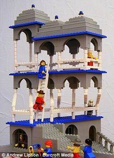MC Escher meets Lego bricks #2  still amazing
