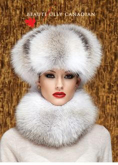 Fur collection made in Canada Fur Fashion, Look Fashion, Fur Accessories, Fabulous Furs, Vintage Fur, Love Hat, White Fur, Fur Collars, Fox Fur