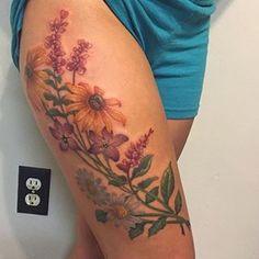 Wildflowers tattoo More