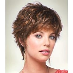 cute short shaggy hair cut