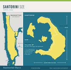 Santorini Maps - Updated for 2020 Santorini Map, Santorini Beaches, Greece Trip, Greece Travel, Travel Guides, Maps, Island, Blue Prints, Greece Vacation
