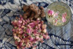 rosebud & ginger tea recipe