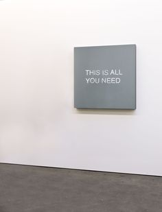 Jeppe Hein, This Is All You Need, 2015