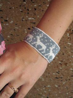 cervo con perline braccialetto perlina grigio bracciale Natale braccialetto perlina donne braccialetto perlina seme bracciale braccialetto festivo bianco bead bracelet