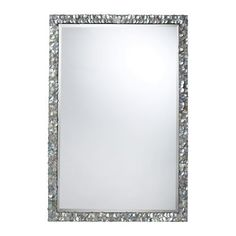 Mother of Pearl Shells Mirror via The Beach Look. Click on the image to see more!