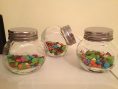 One mini m&m jar for American Girl or 18 inch by lilyvictoria, $12.00