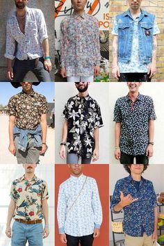 Camisa floral masculina – confira suas transformações na moda a74e31170ba
