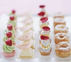 pretty petits fours inspiration!