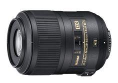 lente nikon macro 85mm VR
