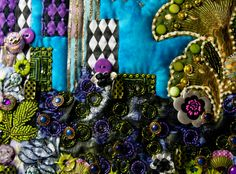 Embellished Art Quilts | contemporary art quilts. embellished art quilts Archives - Fiber ...