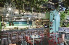 Mahalo South Pacific Fine Food Concept Restaurant, Rome, 2016 - RM\A Roberto Mercoldi Architecture