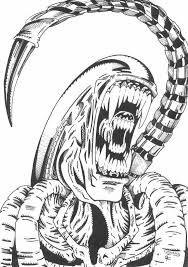 How to Draw Alien vs Predator Step by Step Movies Pop