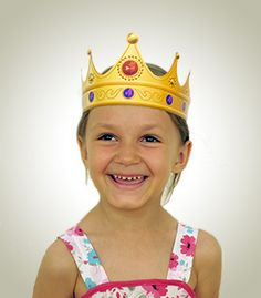Queen Crown - Download & Print Paper hats for only $3.99