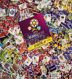 Panini EM Euro 2012 alle Sticker mit Album Vorderseite
