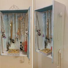 Dresser drawer made into a jewelry box