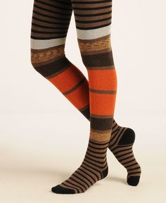 how awesome are these tights? Me Moi Cool Stripe Sweater Tight