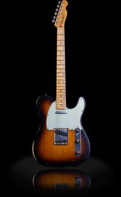 Rock Royalty Custom Fender Telecaster 1960 Sunburst Relic Guitar $75000.00