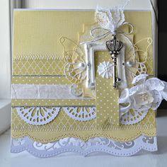 Blomsterbox: Gult kort