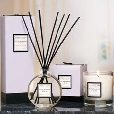 Plum Blossom and Musk Reed Diffuser - Casafina