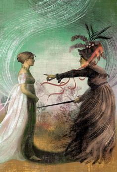 """Pride And Prejudice"", Anna & Elena Balbusso, illustrators"
