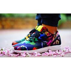 "Adidas ZX Flux - ""floral"""