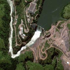 Cambambe Hydroelectric Dam, Angola. Credit Getty/DigitalGlobe