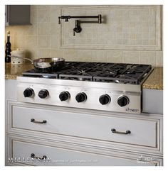 kitchens with gas cooktop | Dacor DRT366 36 in. Gas Cooktop - Kitchen Ovens and Cooktops - Product ...