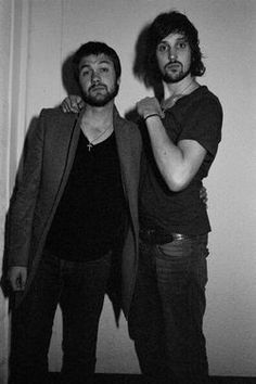 Tom meighan and sergio pizzorno from kasabian