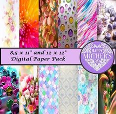 MOTHER'S DAY – digital paper pack