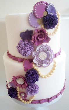 """This is my newest cake """"Summer Vintage"""""""