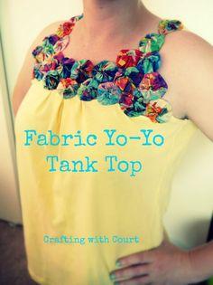 Fabric Yo-Yo Tank Top                                                                                                                                                                                 More