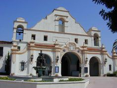 San Gabriel Mission - the 4th mission of the 21 built.